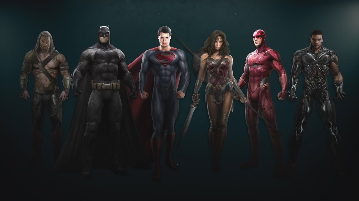 New 'Justice League' Concept Art Reveals Entire Team in ...