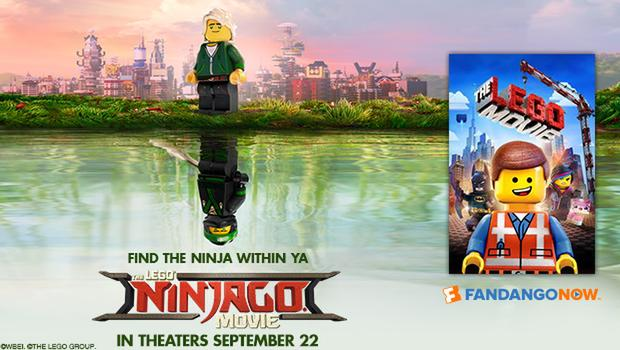 Tickets To The Lego Ninjago Movie And Watch For Just 99 Cents On Fandangonow