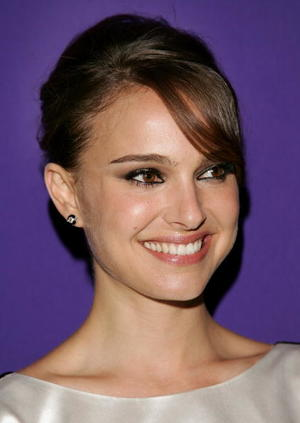 """Actress Natalie Portman at the after party of the N.Y. premiere of """"Paris Je T'aime."""""""