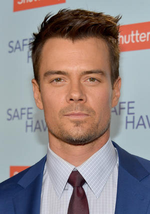 "Josh Duhamel at the California premiere of ""Safe Haven."""