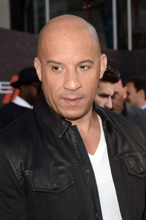 """Vin Diesel at the California premiere of """"Fast & Furious 6."""""""