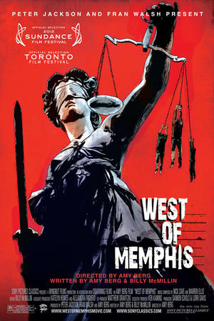 """Poster art for """"West of Memphis."""""""