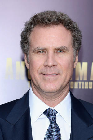 """Will Ferrell at the New York premiere of """"Anchorman 2: The Legend Continues."""""""