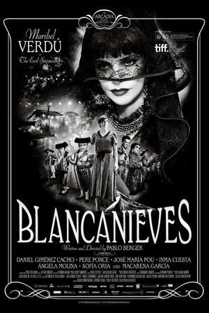 "Poster art for ""Blancanieves."""