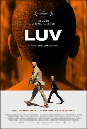 """Poster art for """"Luv."""""""