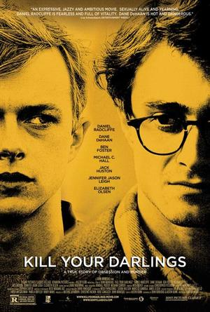 """Poster art for """"Kill Your Darlings."""""""