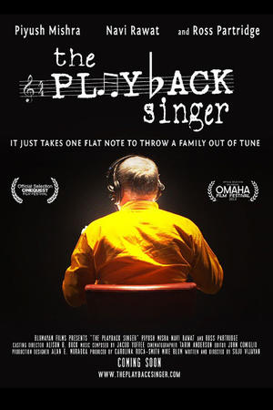 "Poster art for ""The Playback Singer."""