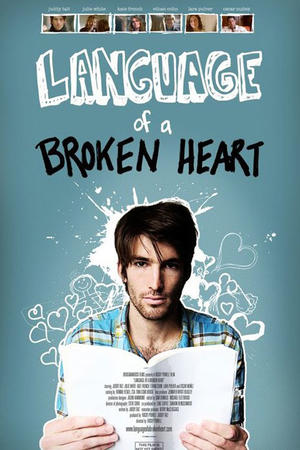 "Poster art for ""Language of a Broken Heart."""