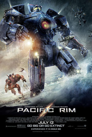 """Poster art for """"Pacific Rim: An IMAX 3D Experience."""""""