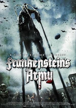 "Poster art for ""Frankenstein's Army."""