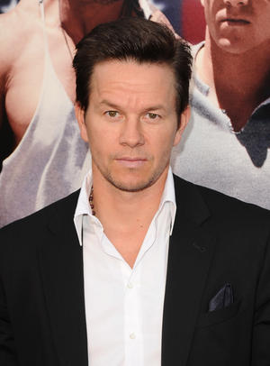 """Mark Wahlberg at the Florida premiere of """"Pain & Gain."""""""