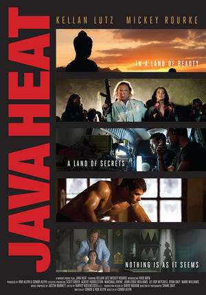 "Poster art for ""Java Heat."""