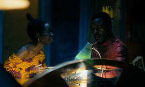 """Danai Gurira and Isaach De Bankole in """"Mother of George."""""""
