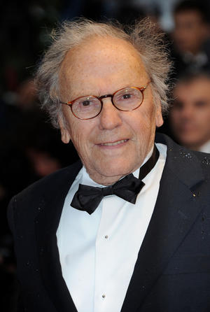 """Jean-Louis Trintignant at the premiere of """"Amour"""" during the 65th Annual Cannes Film Festival."""