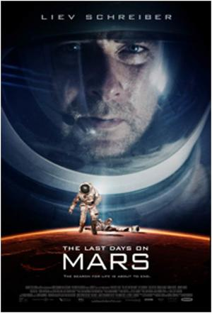 "Poster art for ""Last Days on Mars."""