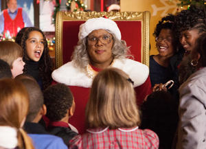 """Tyler Perry as Madea in """"Tyler Perry's A Madea Christmas."""""""