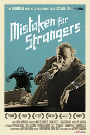 """Poster art for """"Mistaken for Strangers."""""""