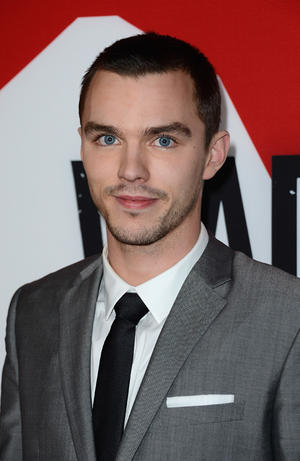 """Nicholas Hoult at the California premiere of """"Warm Bodies."""""""