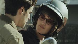 """Jesse Bradford and Q'orianka Kilcher in """"The Power of Few."""""""