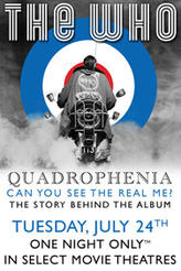 The Who - Quadrophenia: The Complete Story showtimes and tickets