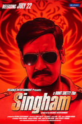 Singham showtimes and tickets