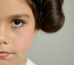 Get the Princess Leia Look in Under 30 Minutes
