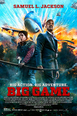 """Poster for """"Big Game."""""""