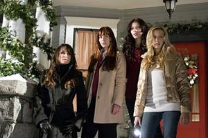 """The cast of """"Black Christmas."""""""