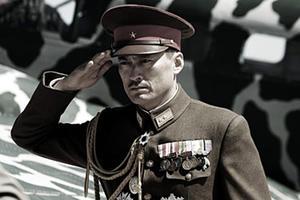 "Ken Watanabe as General Kuribayashi in ""Letters from Iwo Jima."""
