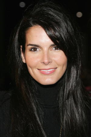 """Actress Angie Harmon at the Beverly Hills premiere of """"The Nativity Story."""""""