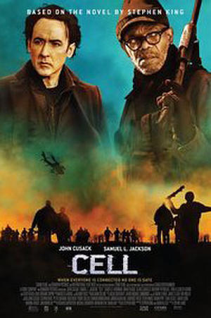 "Poster art for ""Cell."""