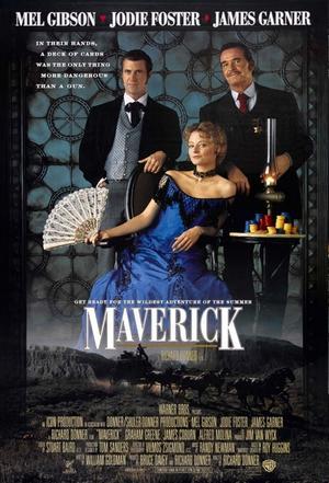 """Poster art for """"Maverick."""""""