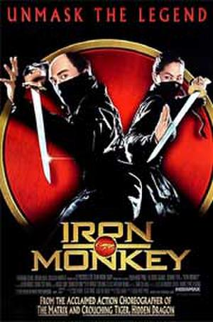 "Poster art for ""Iron Monkey."""