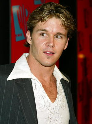 """Dead Silence"" star Ryan Kwanten at the WB Networks 2004 All-Star Winter Party in Hollywood."