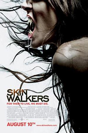 """Poster art for """"Skinwalkers."""""""