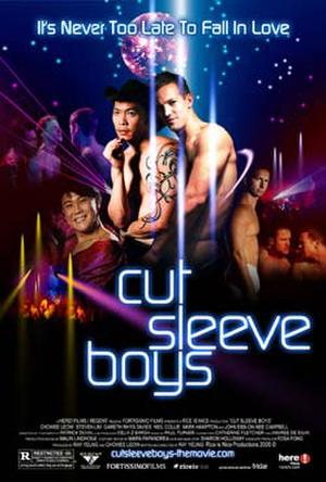 "Poster art for ""Cut Sleeve Boys."""