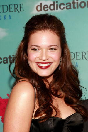 """Actress Mandy Moore at the N.Y. premiere of """"Dedication."""""""