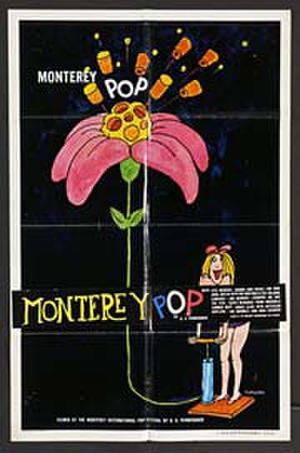 """Poster art for """"Monterey Pop."""""""