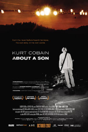 "Poster art for ""Kurt Cobain About a Son."""
