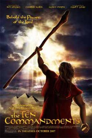 """Poster art for """"The Ten Commandments."""""""