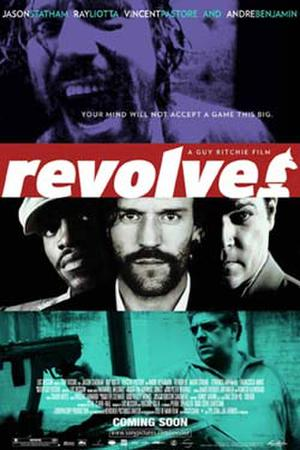 """Poster art for """"Revolver."""""""