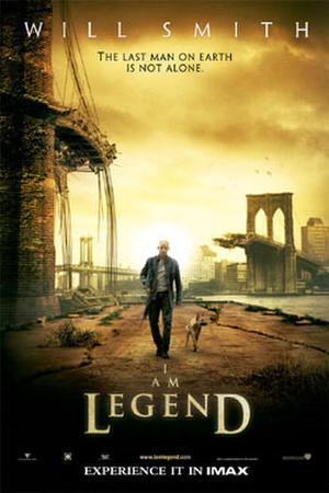 """Poster art for """"I Am Legend."""""""