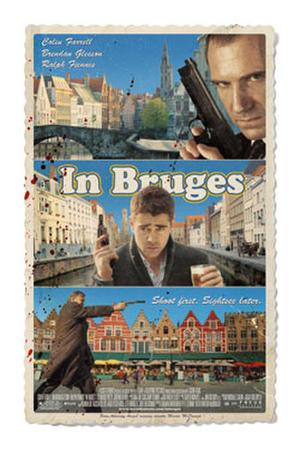 """Poster art for """"In Bruges."""""""