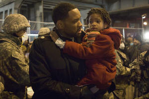 """Will Smith and Willow Smith in """"I Am Legend."""""""