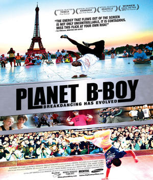 "Poster art for ""Planet B-Boy."""