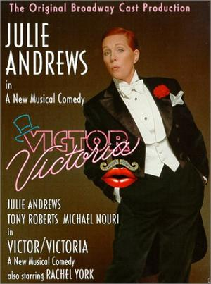 "Poster art for ""Victor/Victoria."""