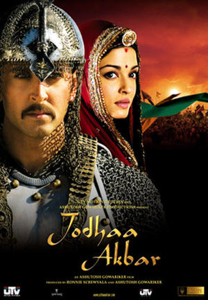 "Poster art for ""Jodhaa Akbar."""