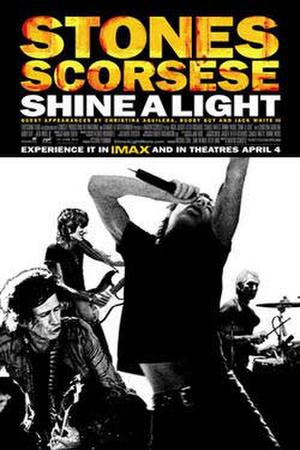 "Poster art for ""Shine a Light."""
