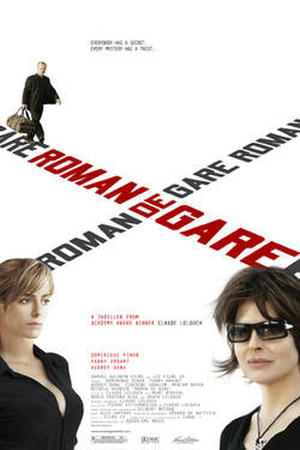 "Poster art for ""Roman de Gare."""