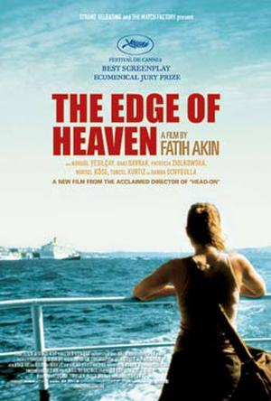 "Poster art for ""The Edge of Heaven."""